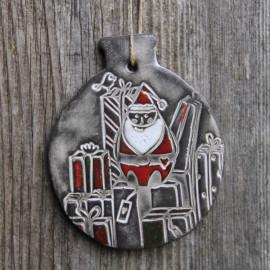 """Boule déco """"Père Noël"""" (grand modèle) - Cadeaux"""