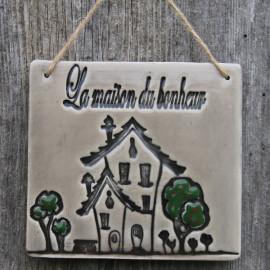 """Cadre """"La maison du bonheur"""" - Thème """"Maison"""""""