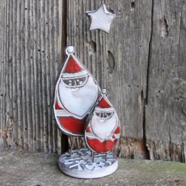"""Duo de """"Père Noël"""" - Oh oh (petit modèle)"""