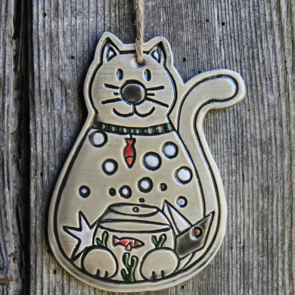 """Chat """"Caramel"""" - Grande taille"""
