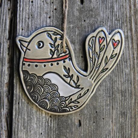 "Oiseau ""Rossignol"" - Petite taille"